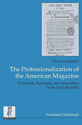 The Professionalization of the American Magazine: Tim Lanzendörfer