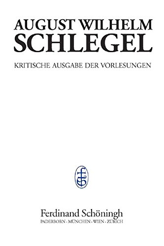 Vorlesungen über Enzyklopädie der Wissenschaften (1803): Frank Jolles