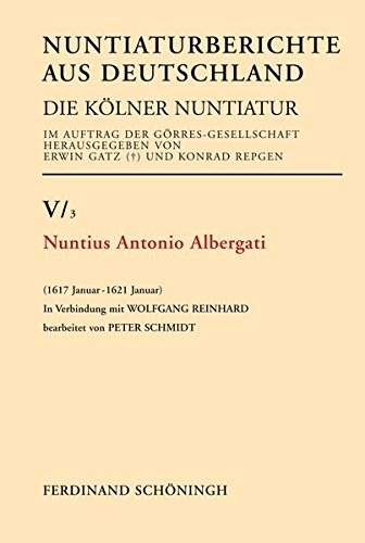 Nuntius Antonio Albergati: Peter Schmidt