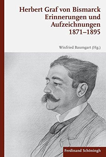 9783506782632: Erinnerungen und Aufzeichnungen 1871-1895