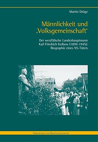 Männlichkeit und 'Volksgemeinschaft': Martin Dröge