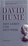 9783506788511: David Hume: Sein Leben und sein Werk