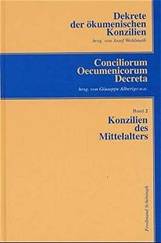 Konzilien des Mittelalters: Josef Wohlmuth