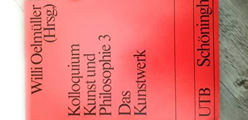 9783506993724: Das Kunstwerk, Bd 3