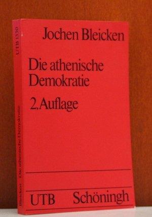 9783506993885: Die athenische Demokratie.