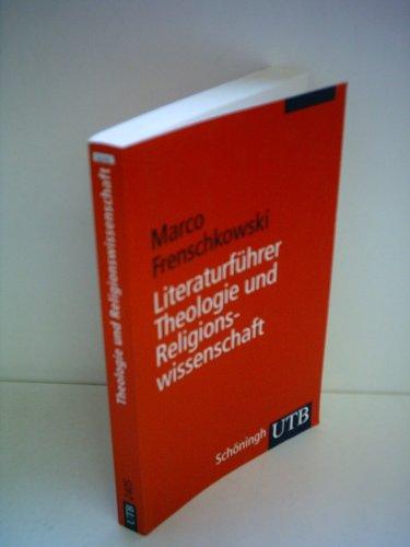 9783506995209: Literaturführer Theologie und Religionswissenschaft.
