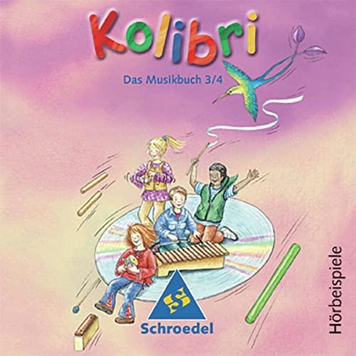 9783507027107: Kolibri. Musik, die Kinder bewegt - Ausgabe 2003: Kolibri, Ausgabe 2002/03 : Hörbeispiele zum Musikbuch 3/4, 4 Audio-CDs