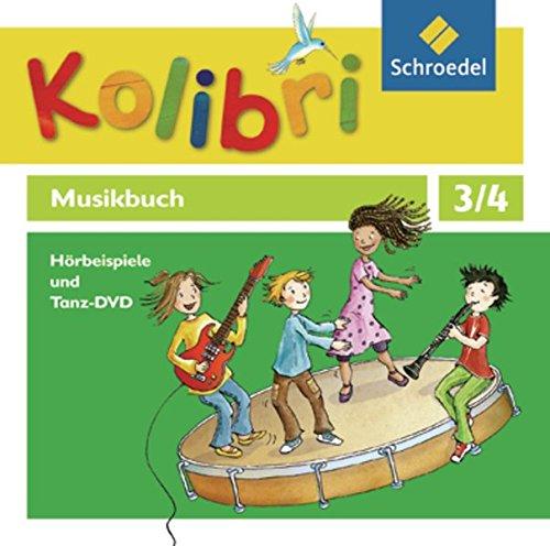 Kolibri - Musikbuch 3 / 4. Hörbeispiele und Tanz- 4 CD`s+1 DVD. Allgemeine Ausgabe: ...