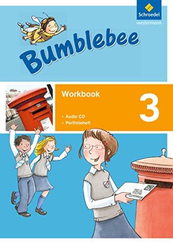 9783507028456: Bumblebee 3. Workbook plus Portfolioheft und Pupil's Audio-CD: Ausgabe 2015