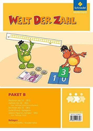 9783507047327: Welt der Zahl - I-Materialien. Paket B
