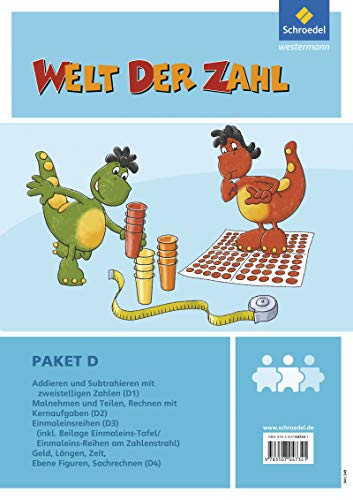 9783507047341: Welt der Zahl - I-Materialien. Paket D