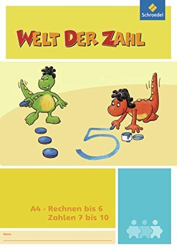 9783507047440: Welt der Zahl - I-Materialien. Rechnen bis 6 / Zahlen 7 bis 10 (A4)