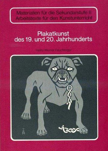 9783507102255: Plakatkunst des 19. und 20. Jahrhunderts