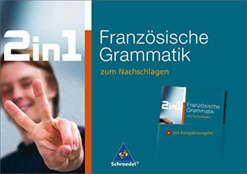 2 in 1 zum Nachschlagen: Französische Grammatik: Diethard Lübke