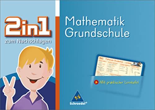9783507222946: 2 in 1 zum Nachschlagen. Mathematik. Grundschule