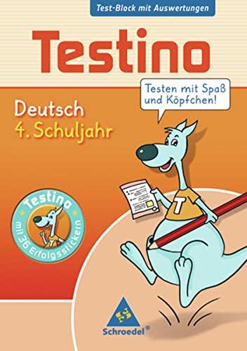 9783507223035: Testino. Deutsch 4