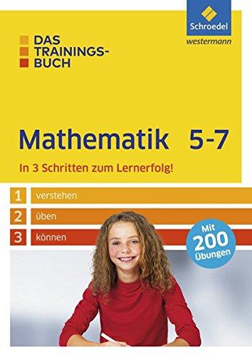 9783507232266: Das Trainingsbuch 5 - 7. Mathematik