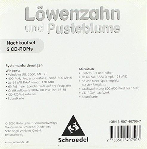 9783507407503: Löwenzahn und Pusteblume - Ausgabe 2004: Lernsoftware 1 5er Nachkaufset