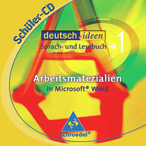 9783507420151: deutsch.ideen SI - Ausgabe Baden-Württemberg: Schülersoftware 1