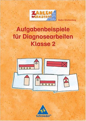 9783507456976: Zahlenwerkstatt. Übungsheft. Aufgabenbeispiele für Diagnosearbeiten Klasse 2