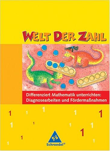 9783507457911: Welt der Zahl 1 Lehrerausgabe: Diagnosearbeiten und Födermaßnahmen (Livre en allemand)