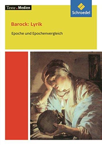 9783507470392: Barock: Lyrik: Textausgabe mit Materialien. Epoche und Epochenvergleich