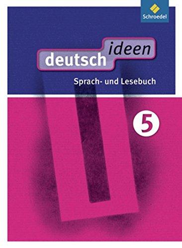 9783507476400: deutsch ideen 5. Sch�lerband. Sekundarstufe 1. Ost: Ausgabe 2012