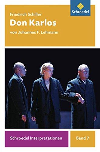 Schiller, F: Don Karlos: Schiller, Friedrich Von