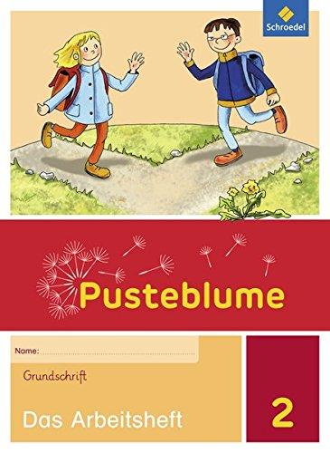 9783507494466: Pusteblume. Das Sprachbuch 2. Arbeitsheft. Grundschrift GS. Allgemeine Ausgabe