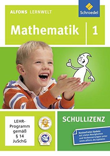 9783507602809: Alfons Lernwelt Lernsoftware Mathematik - aktuelle Ausgabe: Mathematik 1: Schullizenz
