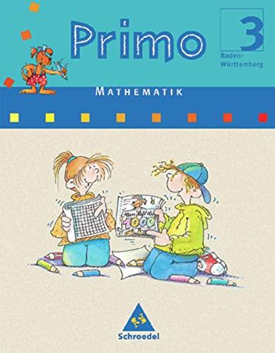9783507752030: Primo: Primo Mathematik 3. Schülerband. Baden-Württemberg. (Lernmaterialien)