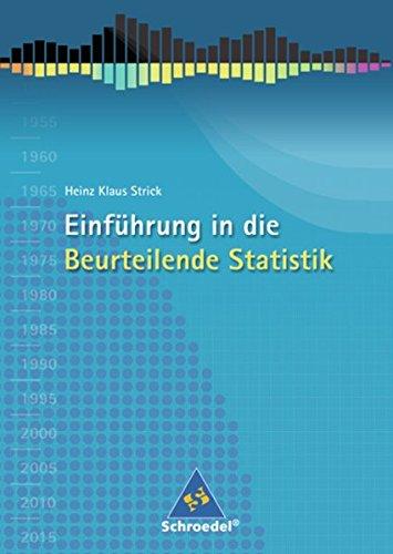9783507832145: Einführung in die Beurteilende Statistik. Schülerband. Ausgabe 2007