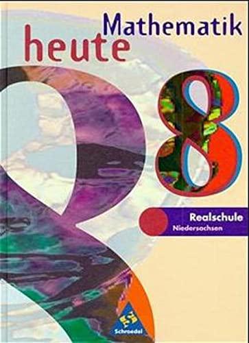 9783507836280: Mathematik heute, Realschule Niedersachsen, EURO, 8. Schuljahr