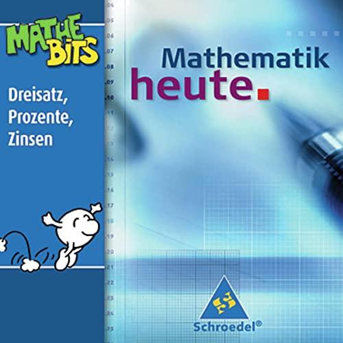 9783507838796: Mathematik heute 7. / 8. Schuljahr. Lernsoftware. CD-ROM für Windows ab 95: Dreisatz, Prozente, Zinsen