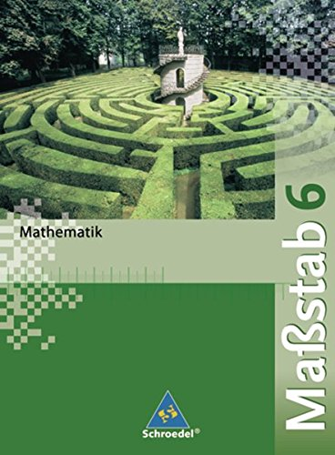 9783507842564: Maßstab 6 Mathematik - Schülerband / Realschule