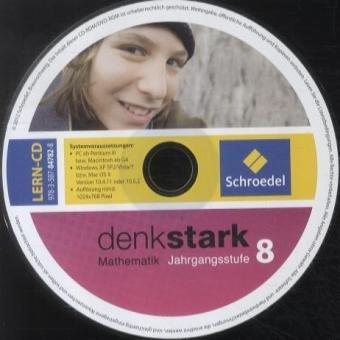Denkstark Mathematik 8. CD-ROM zum Schülerband. Nordrhein-Westfalen: 6. - 10. Schuljahr