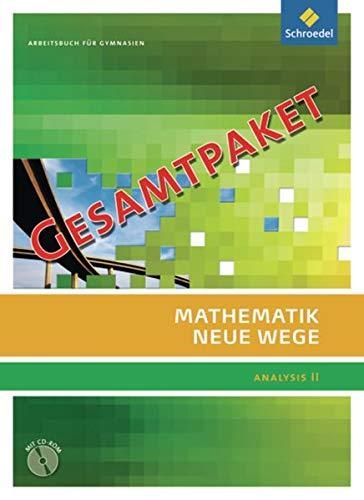 9783507855601: Mathematik Neue Wege SII. Analysis 2. Allgemeine Ausgabe: Gesamtpaket: bestehend aus Stochastik (85587) und dem Kompaktpaket (85593). Sekundarstufe 2 - Ausgabe 2011