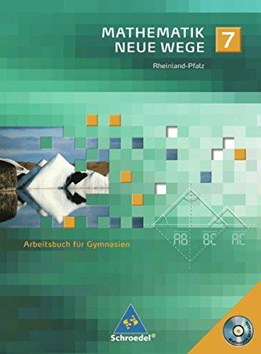 9783507855670: Mathematik Neue Wege 7. Arbeitsbuch. Gymnasium. Rheinland-Pfalz