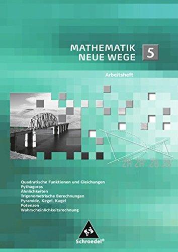 9783507855991: Mathematik Neue Wege 5. Arbeitsheft