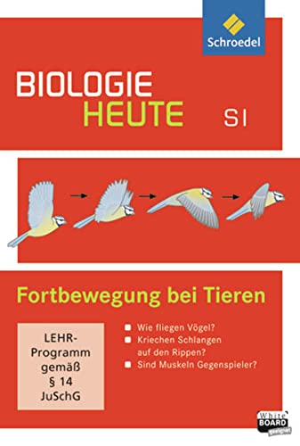 9783507866720: Biologie heute Sekundarstufe 1. Fortbewegung bei Tieren. CD-ROM: Einzelplatzlizenz