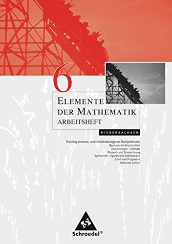 Elemente der Mathematik 6. Arbeitsheft. Sekundarstufe 1.
