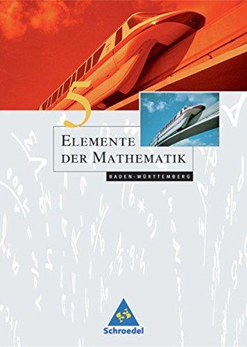 9783507871496: Elemente der Mathematik 5. Schülerband. Baden-Württemberg