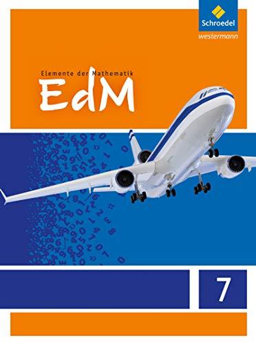 9783507874848: Elemente der Mathematik 7. Schülerband mit CD-ROM. G8. Hessen: Sekundarstufe 1 - Ausgabe 2012