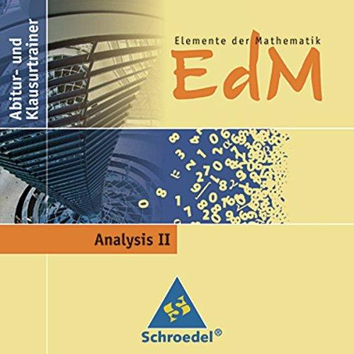 9783507878921: Elemente der Mathematik - Abitur-und Klausurtrainer. CD-ROM Analysis II