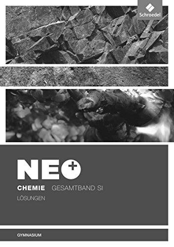 9783507880634: NEO Chemie. Lösungen: Allgemeine Ausgabe für die Sekundarstufe 1