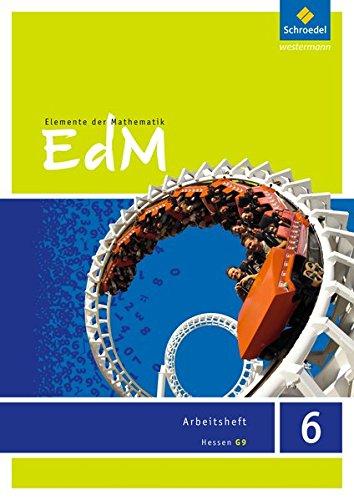 9783507885462: Elemente der Mathematik 6. Arbeitsheft. G9. Hessen: Sekundarstufe 1 - Ausgabe 2013