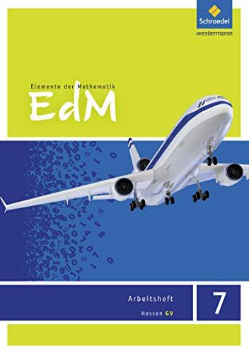 9783507885479: Elemente der Mathematik 7. Arbeitsheft. G9. Hessen: Sekundarstufe 1 - Ausgabe 2013