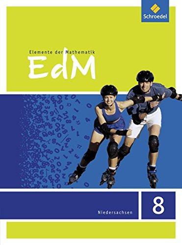 9783507886018: Elemente der Mathematik 8. Sch�lerband. Sekundarstufe 1. G9. Niedersachsen: Ausgabe 2015