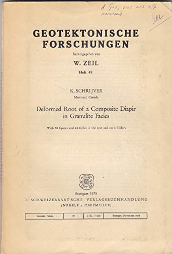 Deformed root of a composite diapir in: K Schrijver