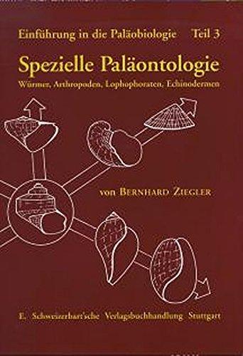 Einführung in die Paläobiologie 3: Bernhard Ziegler